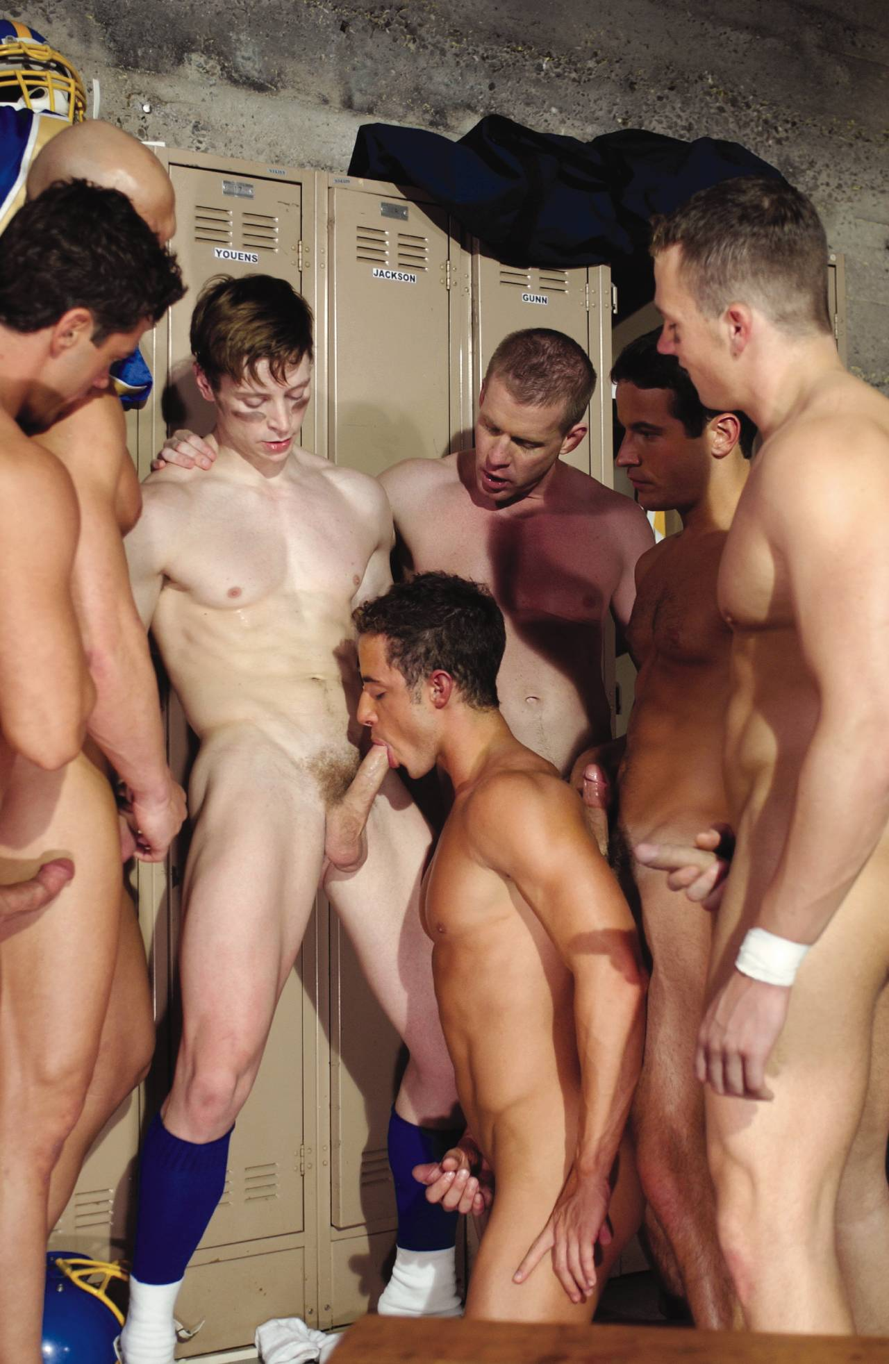 Fucking in changing room
